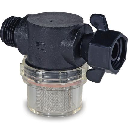 Shurflo Swivel Nut Strainer with 1/2