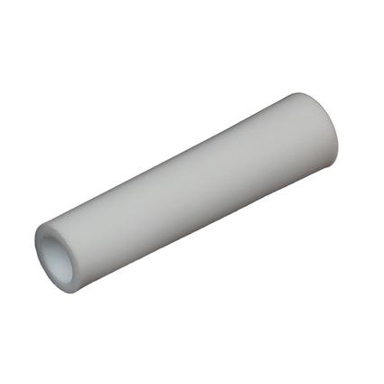 Entry Door Bumper - White Plastic, 2 7/8 Inch