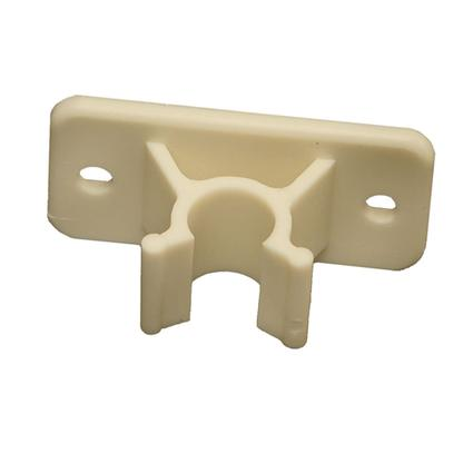 Colonial White Entry Door Holder - Plastic Clip Only