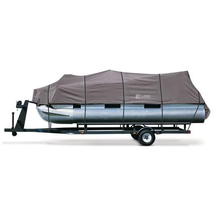 StormPro Pontoon Boat Covers, Fits 17'-20' Pontoon Boats with Beam Width to 96