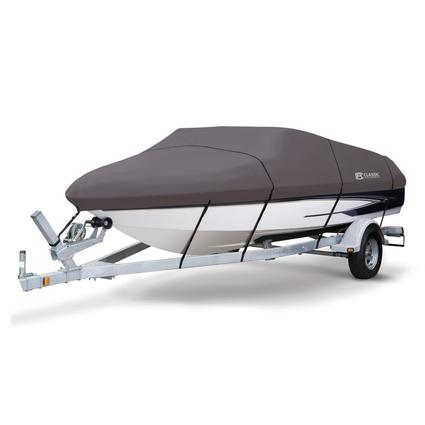 StormPro Boat Covers, Fits 14'-16' V-hull Boats with Beam Width to 75