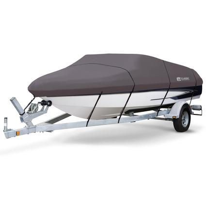StormPro Boat Covers, Fits 20'-22' V-hull Boats with Beam Width to 106