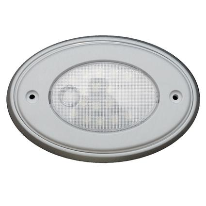 5 inch Oval Interior Puck Light, Recessed