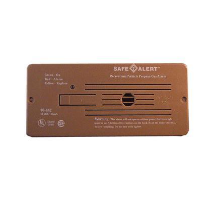 Classic LP Gas Alarm Flush Mount, Tan