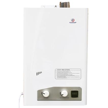 EccoTemp FVI12-NG 3.4 GPM Natural Gas Indoor Forced Vent Tankless Water Heater