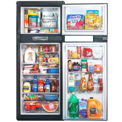 Norcold Refrigerator with Ice Maker 9.5 - Black