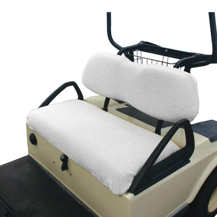 Golf Cart Seat Cover, White