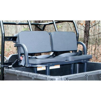 Black Deluxe UTV Rumble Seat