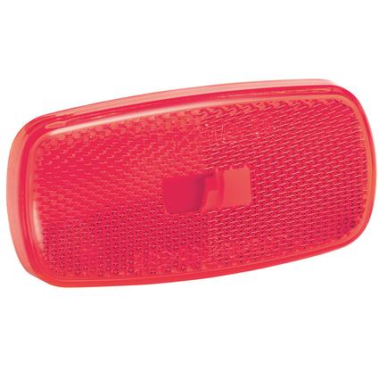 Replacement Lens for #59 Series Clearance/Side Marker Lights- Red