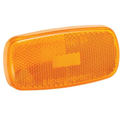 Replacement Lens for #59 Series Clearance/Side Marker Lights- Amber