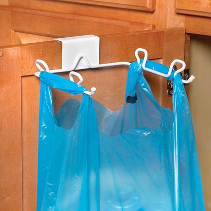Over Cabinet/Drawer Trash Bag Holder