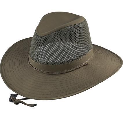 Aussie Crushable Hat- Olive, Large