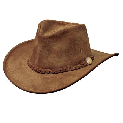 Crushable Weekend Walker Hat- Brown, Large