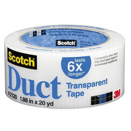Scotch Clear Duct Tape