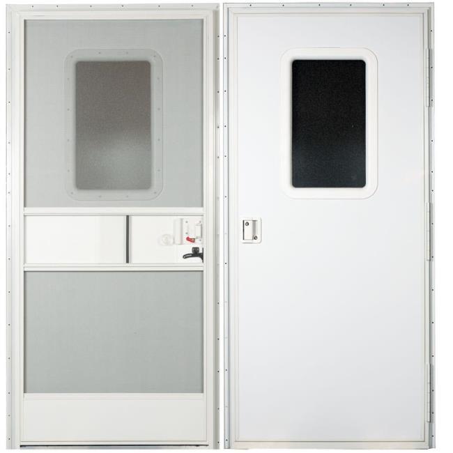 Square Door Rh 30x72 Polar White Ap 015 217720 Entry Door