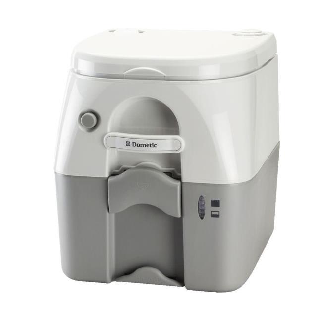 dometic portable rv marine toilet 5 gallon gray dometic