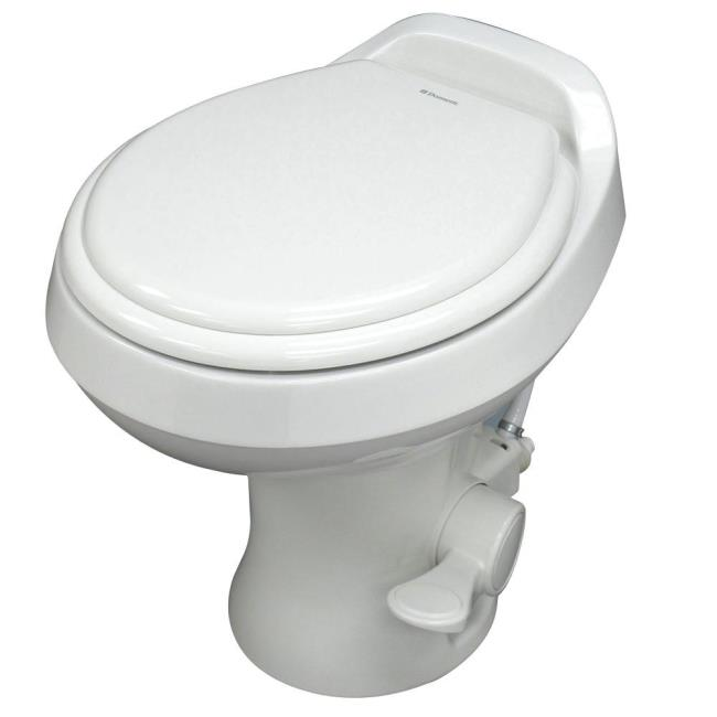 Dometic High Profile 300 Gravity Flush RV Toilet, White - Camping World