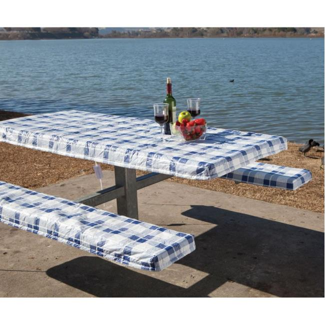 Image Deluxe Picnic Tablecloth Seat Covers To Enlarge The Click Or Press