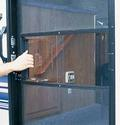 Clear Screen Door Slide Set