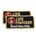 Good Sam Club Life Member Badge