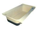 RV Bath Tub Right Hand Drain TU600RH - Colonial White