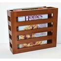 Solid Wood Magazine Racks