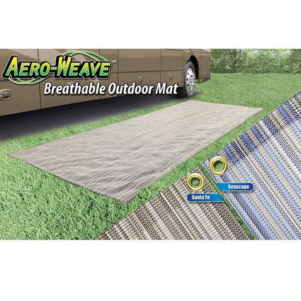 Aeroweave Breathable Outdoor Mat - Santa Fe, 6' x 15'