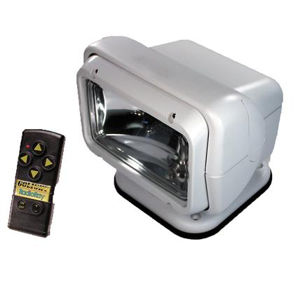 GoLight Radioray Permanent Mount Model with Wireless Hand-Held Remote White