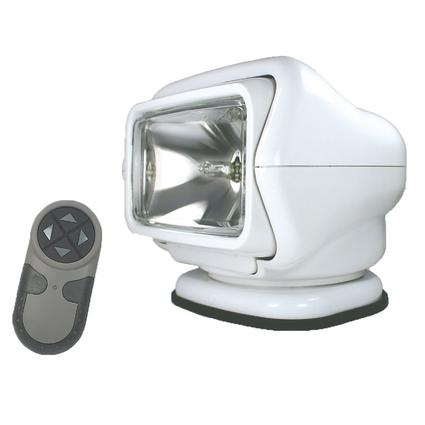 GoLight Stryker Permanent Mount Model with Wireless Hand-Held Remote – White