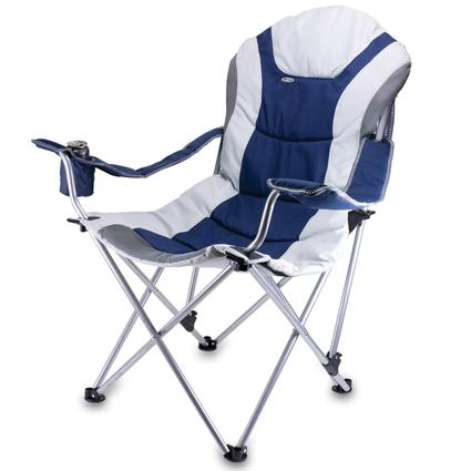 Reclining Camp Chair- Navy