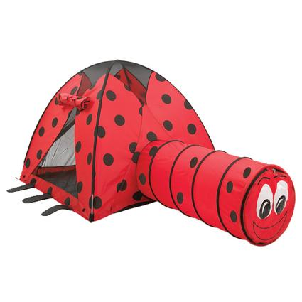 Lady Bug Tent & Tunnel Combo