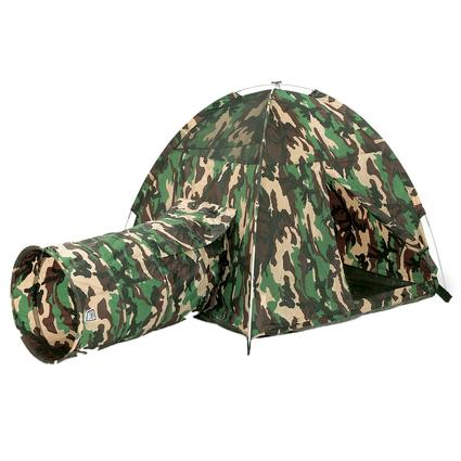 Command HQ Tent & Tunnel Combo