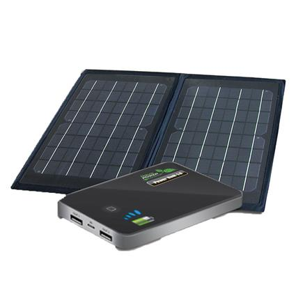 6 Watt Folding Solar Panel with Power Bank 5.0