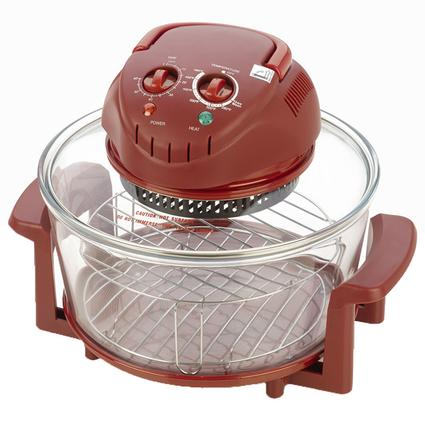 Halogen Tabletop Oven - Red