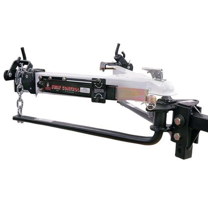 Husky Round Bar Weight Distributing Hitch Package