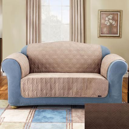 Soft Suede Pet Loveseat Throws - 48
