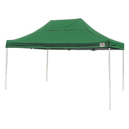 10X15 Pro Series Straight Leg Canopy - Green