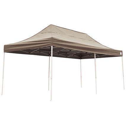 10X20 Pro Series Straight Leg Canopy - Desert Bronze