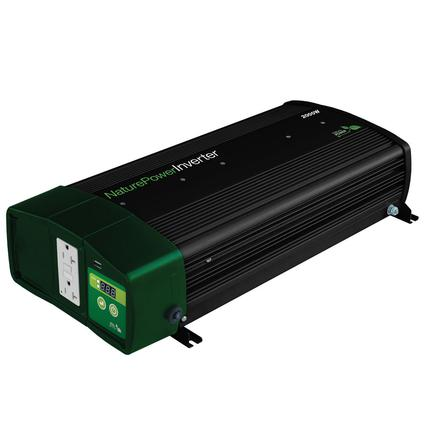 Nature Power Sine Wave Inverter/Chargers - 2000 Watt with 55 Amp Battery Charger