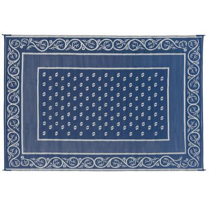 Faulkner Vineyard 6' x 9' Blue Multi-Purpose Mat