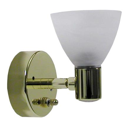 Combination Directional Reading Pin Up Light - Brass Finish