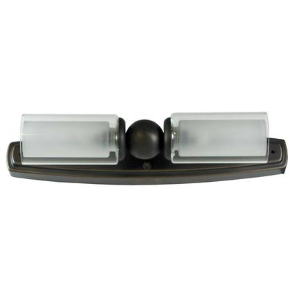 Mirage Dual Candle Vanity Light - Oil Rubbed Bronze Finish