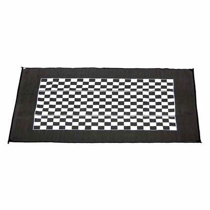 Checkered Racing Patio Mat
