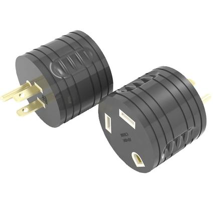 30 Amp RV Female to 15 Amp Male Adapter