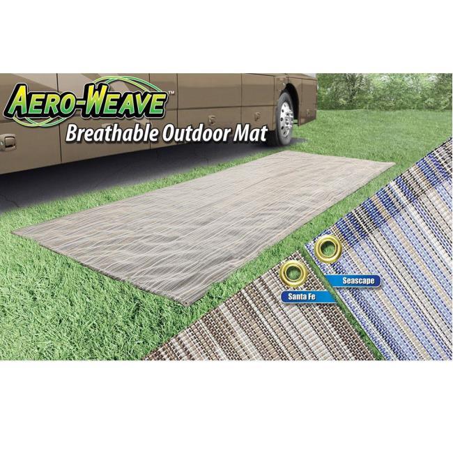 Image Prest O Fit Aero Weave Breathable Outdoor Mat, 7.5u0026apos X 20u0026apos .