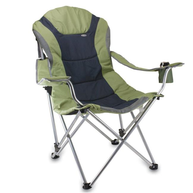 Merveilleux Image Reclining Camp Chair  Sage Green. To Enlarge The Image, Click Or  Press .