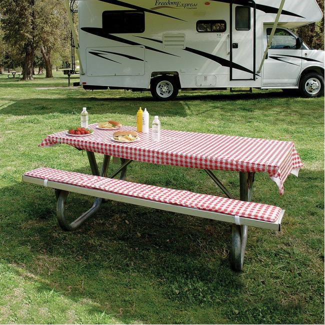 Incroyable Image Tablecloth U0026 Padded Bench Cushions. To Enlarge The Image, Click Or  Press Enter .