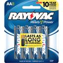 Alkaline AA Battery, 8 Pack