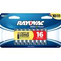 Alkaline AA Battery, 16 Pack