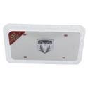 Chrome Ram License Plate